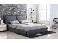 Кровать 160x200 ABAVA серый